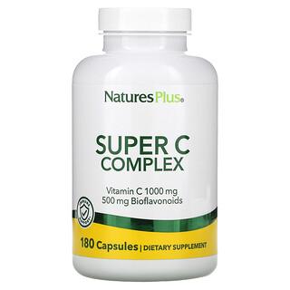 Nature's Plus, Super C 복합체, 베지 캡슐 180정