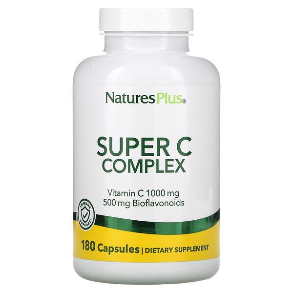Super C Complex, 180 Capsules