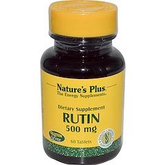 Nature's Plus, ルチン、500 mg、60錠