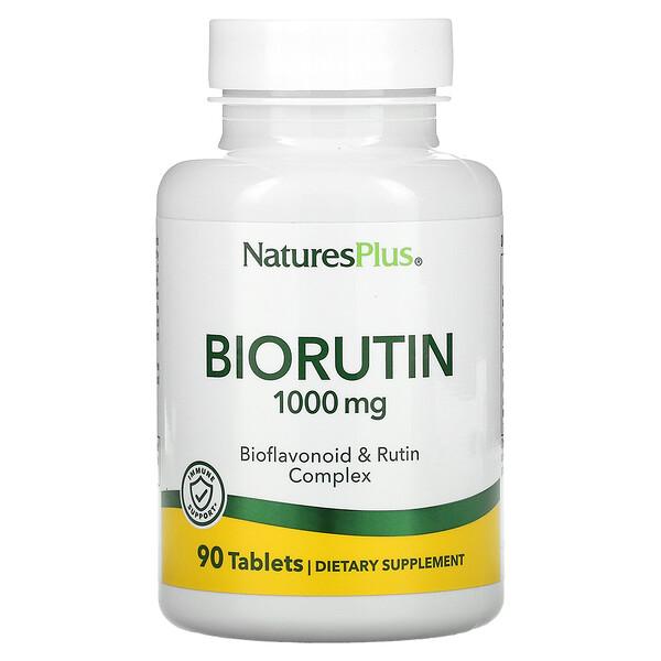 Biorutin, 1000 mg, 90 Tablets