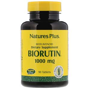 Натурес Плюс, Biorutin, 1000 mg, 90 Tablets отзывы покупателей