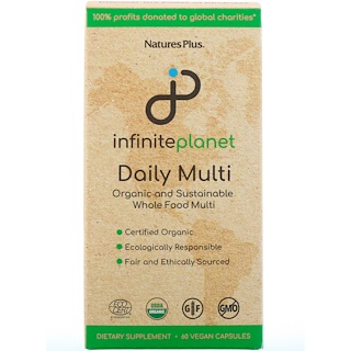 Nature's Plus, Infinite Planet, Daily Multi, 60 Vegan Capsules