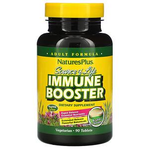 Натурес Плюс, Source of Life, Immune Booster, 90 Tablets отзывы покупателей