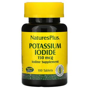 Натурес Плюс, Potassium Iodide, 150 mcg, 100 Tablets отзывы покупателей