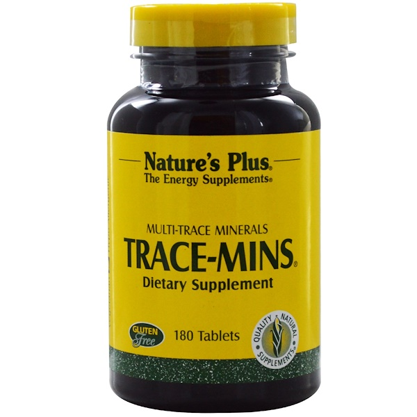 Nature's Plus, Trace-Mins,180片