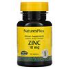 Nature's Plus, Zinc, 10 mg, 90 Tablets