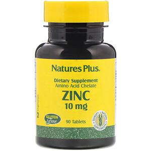 Натурес Плюс, Zinc, 10 mg, 90 Tablets отзывы