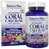 Nature's Plus, Activated Coral Calcium, 90 Veggie Caps