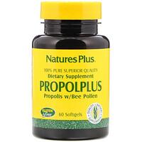 Propolplus, прополис с пчелиной пыльцой, 60 капсул - фото