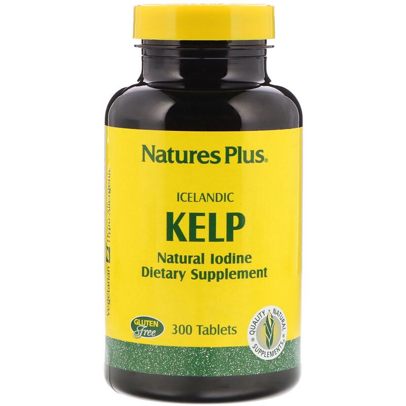 Icelandic  Kelp, 300 Tablets