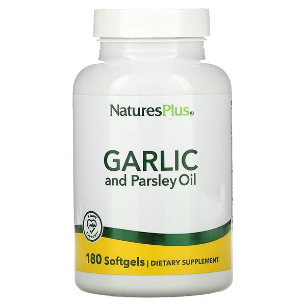 Garlic and Parsley Oil, 180 Softgels