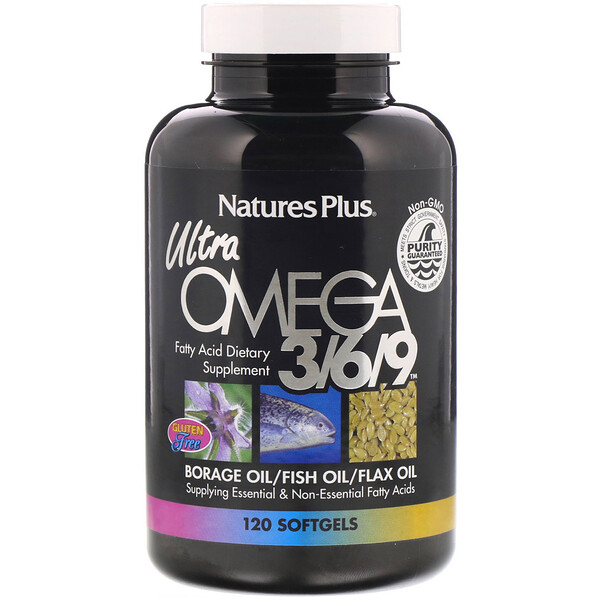 Ultra Omega 3/6/9, 120 Softgels