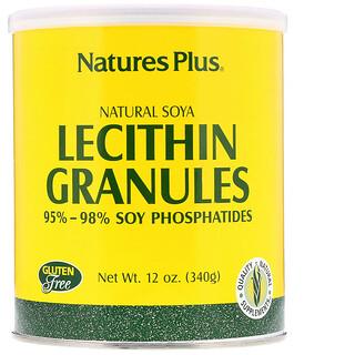 Nature's Plus, Гранулы лецитина, натуральная соя 12 унции (340 г)