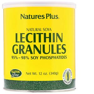 Натурес Плюс, Lecithin Granules, Natural Soya, 12 oz (340 g) отзывы покупателей