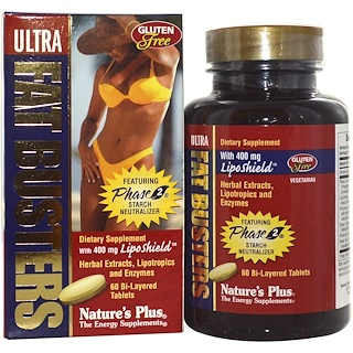 Nature's Plus, Ultra Fat Busters, 60 Bi-Layered Tablets