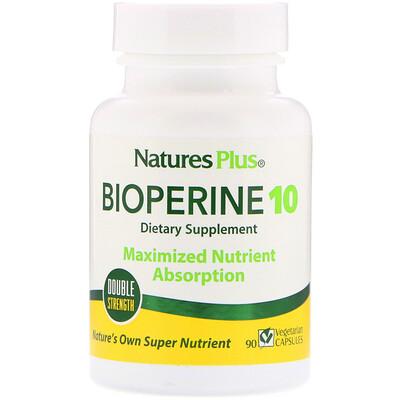 Купить Nature's Plus Биоперин 10, 90 вегетарианских капсул
