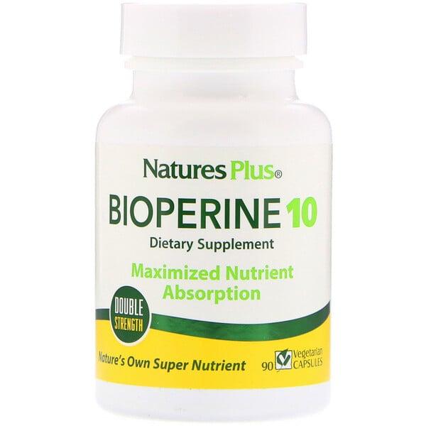 Nature's Plus, Bioperine 10, 90 Vegetarian Capsules