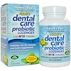 Nature's Plus, Adult Dental Care Probiotic With M18, Natural Peppermint Flavor, 60 Lozenges
