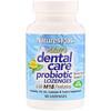 Nature's Plus, Adult's Dental Care Probiotic, Natural Peppermint Flavor, 60 Lozenges