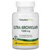 Nature's Plus, Ultra Bromelain, 1500 mg, 60 Tablets