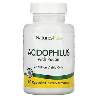 Nature's Plus, Acidophilus with Pectin, 90 Capsules