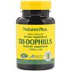 Nature's Plus, Tri-Dophilus, Probiotic Supplement, Triple Strength, 60 Vegetarian Capsules