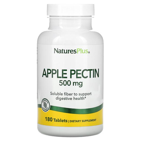 Nature's Plus, Apple Pectin, 500 mg, 180 Tablets