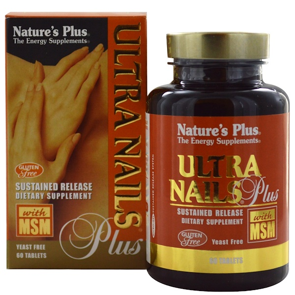 Nature's Plus, Ultra Nails Plus, 60 Tablets (Discontinued Item)