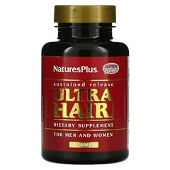 Nature's Plus, Ultra Hair,適用於男性和女性,60 片