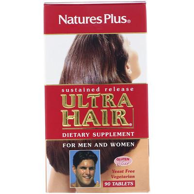 Купить Пищевая добавка «Ультра волосы», для мужчин и женщин, 90 таблеток