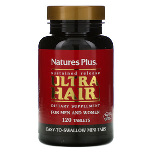 Натурес Плюс, Ultra Hair, For Men & Women, 120 Tablets отзывы покупателей