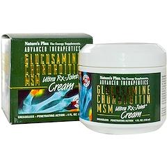 Nature's Plus, Advanced Therapeutics, Glucosamine Chondroitin MSM, Ultra Rx-Joint Cream, 4 fl oz (118 ml)
