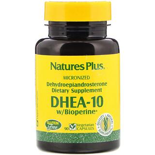 Nature's Plus, DHEA-10 With Bioperine, 90 Vegetarian Capsules