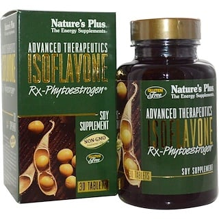 Nature's Plus, Advanced Therapeutics, Isoflavone Rx-Phytoestrogen, 30 Tablets