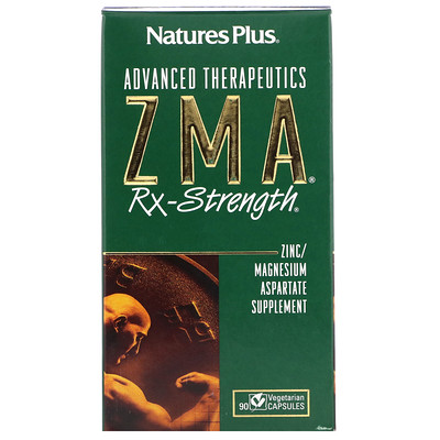 Advanced Therapeutics, ZMA Rx-Strength, 90 Vegetarian Capsules now zma 90 капс