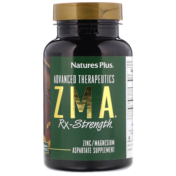 Advanced Therapeutics, ZMA Rx-Strength, 90 Vegetarian Capsules