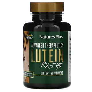 Nature's Plus, مكمل للعيونAdvanced Therapeutics، لوتين RX-Eye، عدد 60 كبسولة نباتية