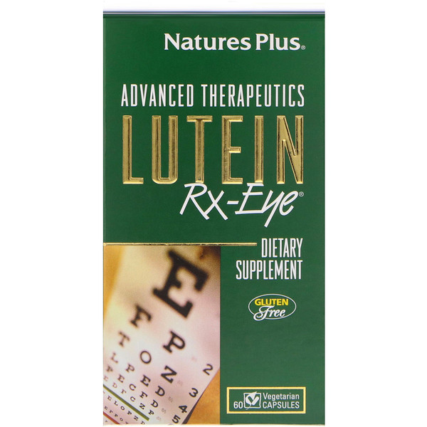 Advanced Therapeutics، RX-Eye، لوتين، 60 كبسولة نباتية