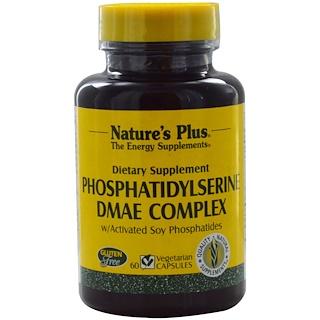 Nature's Plus, ホスファチジルセリン DMAE 複合体, 60 ベジタリアンカプセル