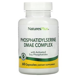 Nature's Plus, комплекс фосфатидилсерина с ДМЭА, 60вегетарианских капсул