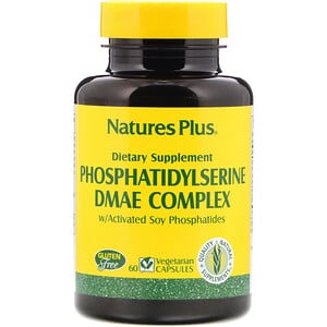 Натурес Плюс, Phosphatidylserine DMAE Complex, 60 Vegetarian Capsules отзывы