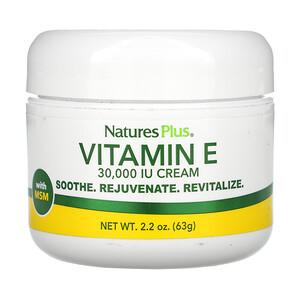 Натурес Плюс, Vitamin E Cream, 30,000 IU, 2.2 oz (63 g) отзывы покупателей