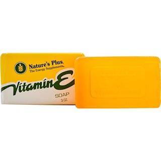 Nature's Plus, Vitamin E Soap, 3 oz