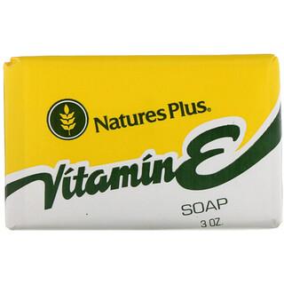 Nature's Plus, Vitamina E jabón, 3 oz