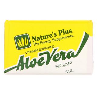 Nature's Plus, Aloe Vera jabón, 3 oz