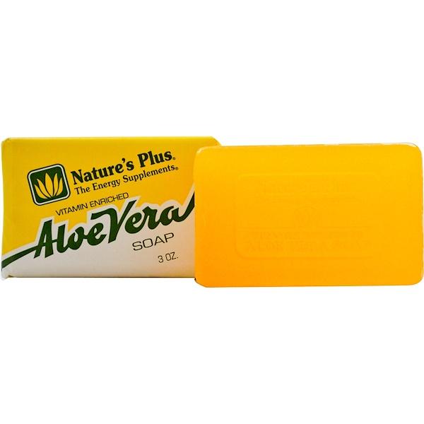 Nature's Plus, Aloe Vera Soap, 3 oz