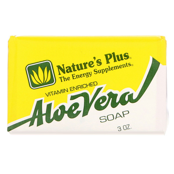 Nature's Plus, Aloe Vera Soap, 3 oz