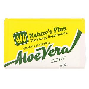 Натурес Плюс, Aloe Vera Soap, 3 oz отзывы покупателей