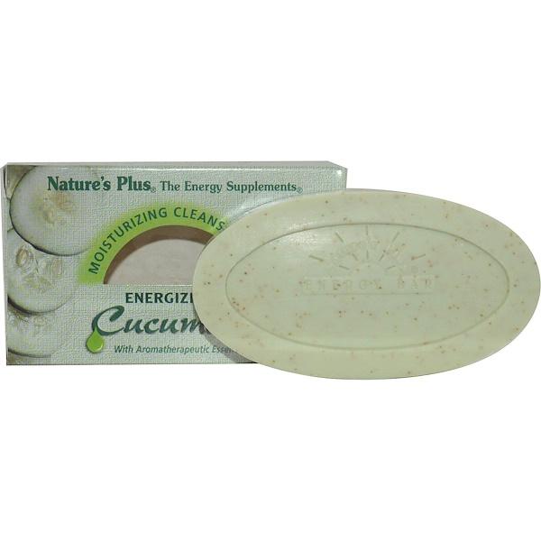 Nature's Plus, 保濕潔淨棒,能量補充黃瓜,3、5 oz (100 g)