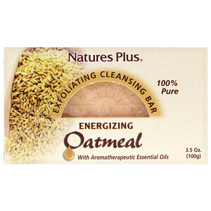 Натурес Плюс, Oatmeal Exfoliating Cleansing Bar, 3.5 oz. (100 g) отзывы покупателей